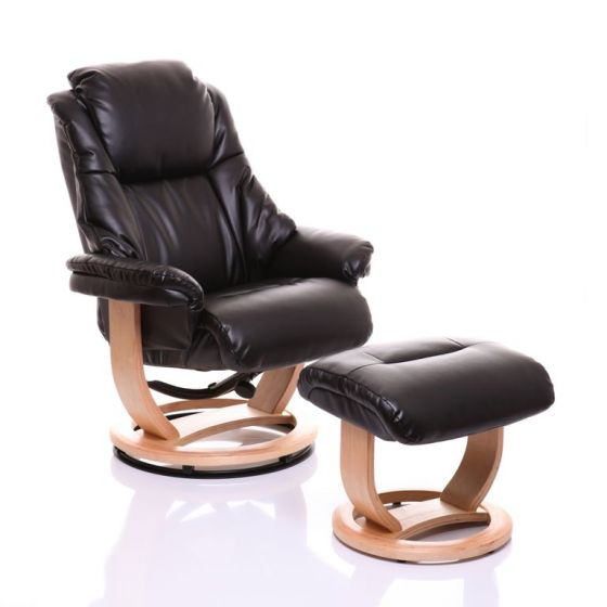 emperor recliner chair in black leather oriental leather co ltd