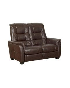 The Windsor Two Seater Sofa in Chocolate